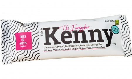 This is Kenny the Energy Bar