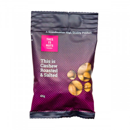 Cashew Roasted & Salted - 40g